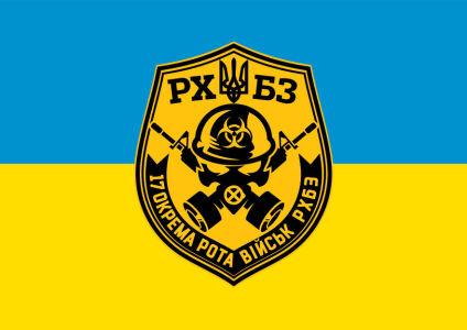 Прапор 17 роти військ РХБЗ (military-00068)