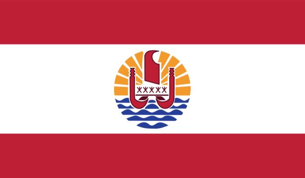 Прапор Французької Полінезії (world-00239)