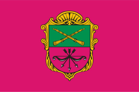 Прапор міста Запоріжжя (flag-00055)