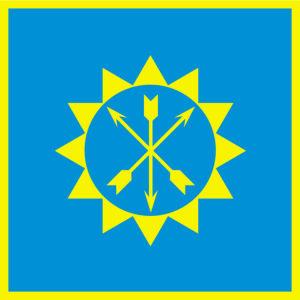 Прапор міста Хмельницького (flag-00097)