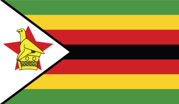 прапор Зімбабве (world-00145)