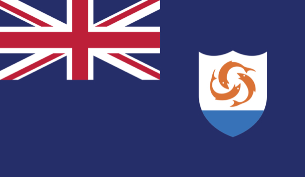 Прапор Ангільї (world-00158)