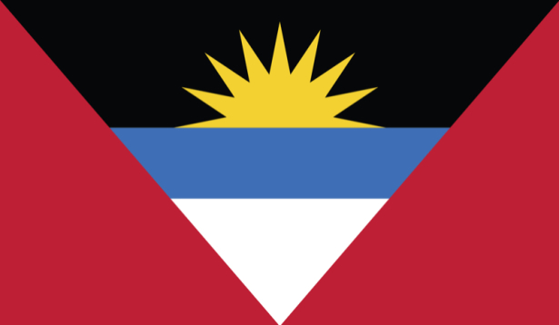 Прапор Антигуа і Барбуди (world-00160)