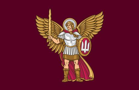 Прапор Десантно-Штурмових Військ України (military-00071)