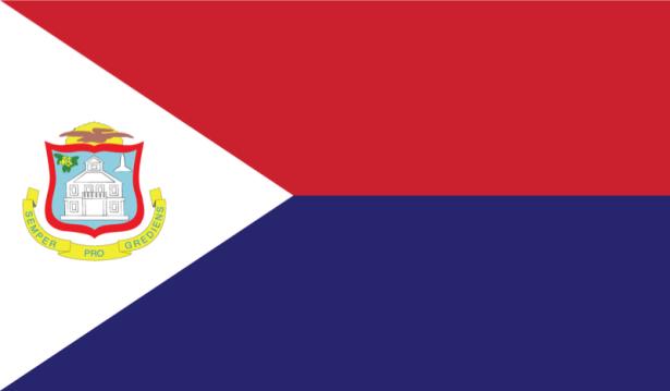 прапор Синт-Мартена (world-00035)