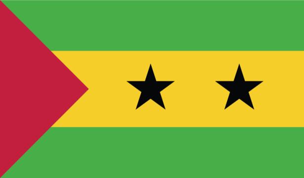 прапор Сан-Томе і Прінсіпі (world-00041)