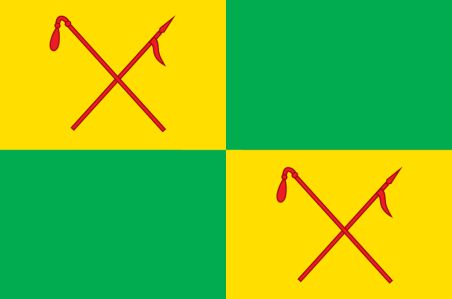 Прапор Межівського району (flag-125)