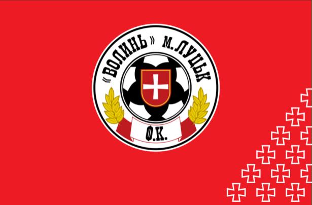 прапор ФК Волинь Луцьк (football-00028)