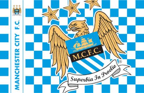 Прапор ФК Манчестер Сіті (football-00040)