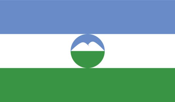 прапор Кабардино-Балкарії (world-00084)