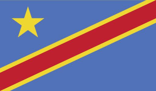 Прапор Демократичної Республіки Конго (world-00209)