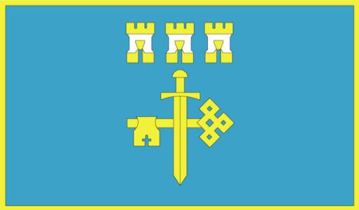 прапор Тернопільської області (flag-00009)