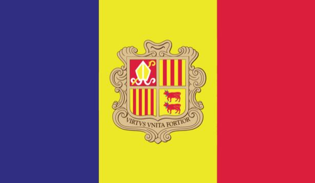 Прапор Андорри (world-00156)