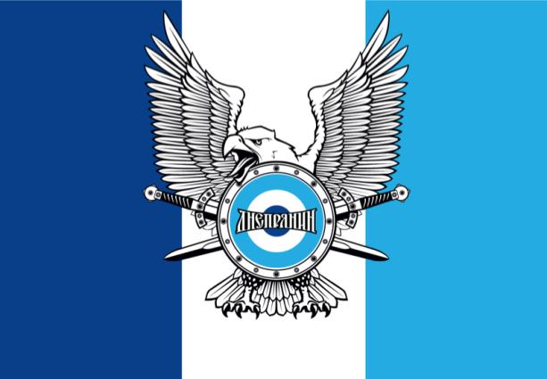 прапор Дніпрянин традиційний (football-00014)