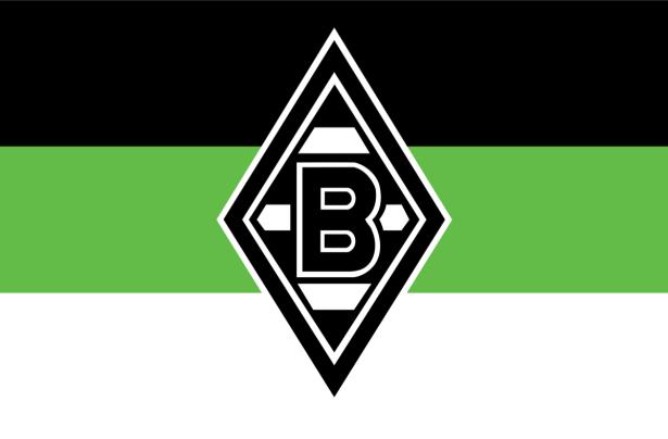 Прапор ФК Боруссія Менхенгладбах (football-00059)