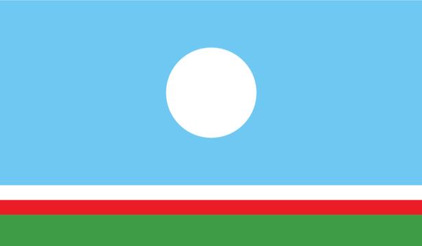 прапор Республіки Саха (world-00038)