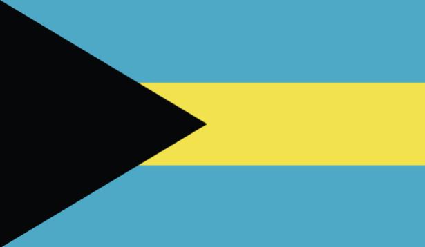 прапор Багамських островів (world-00167)