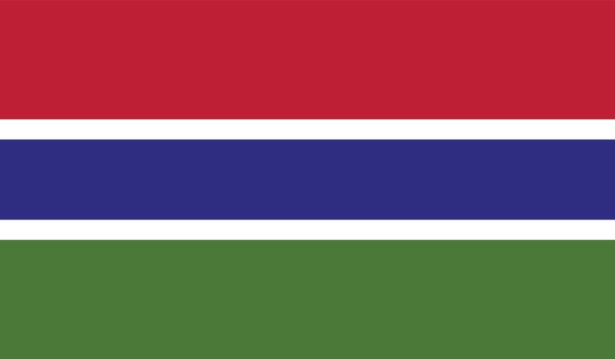 Прапор Гамбії (world-00242)