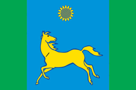Прапор Дніпровського району (flag-126)