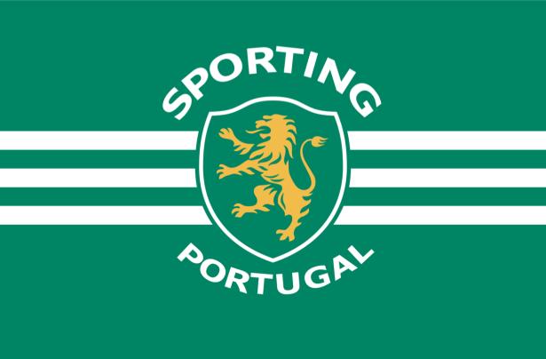 Прапор ФК Спортінг (football-00086)