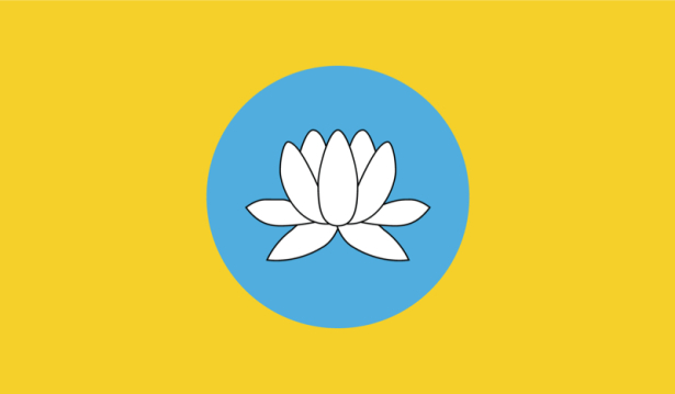 прапор Калмикії (world-00085)