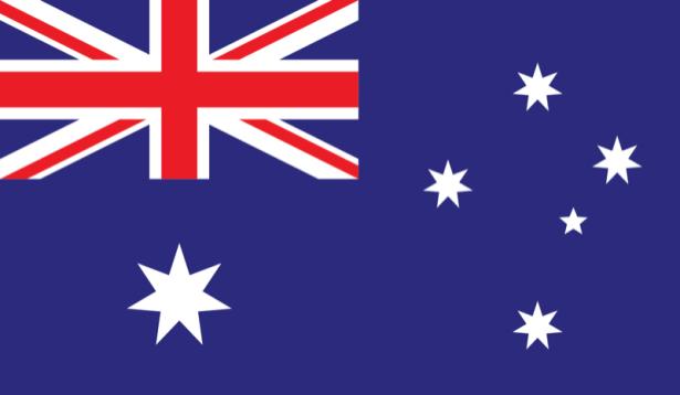 Прапор Австралії (world-00164)