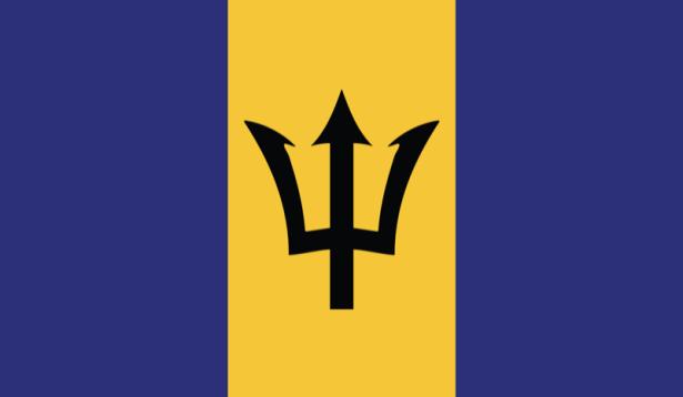 Прапор Барбадосу (world-00170)