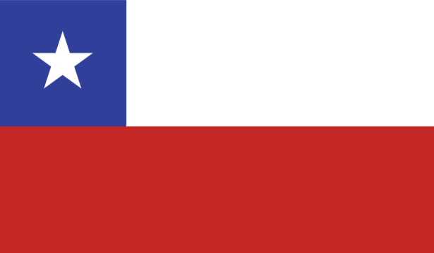 Прапор Республіки Чилі (world-00203)