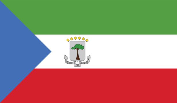 Прапор Екваторіальної Гвінеї (world-00230)