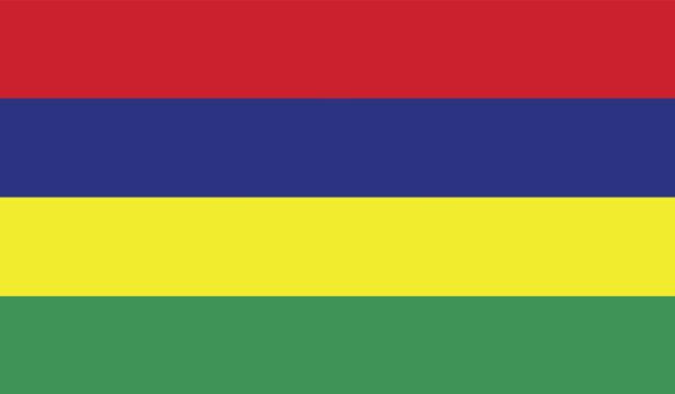Прапор Маврикію (world-00265)