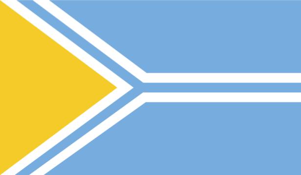 Прапор Туви (world-00126)
