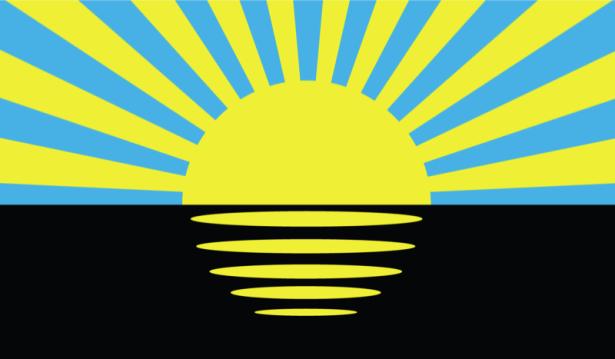 прапор Донецької області (flag-00016)