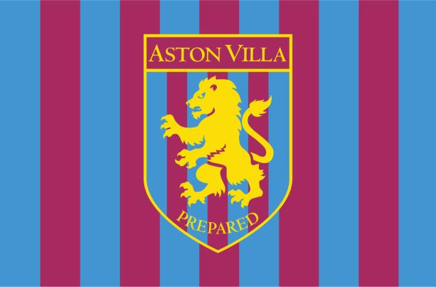 Прапор ФК Астон Вілла (football-00039)