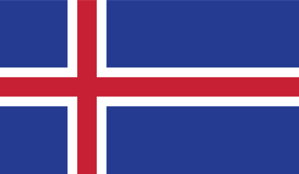 прапор Ісландіїї (world-00069)