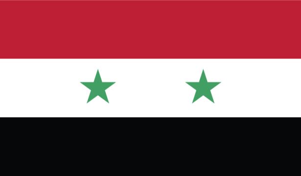 прапор Сірії (world-00108)