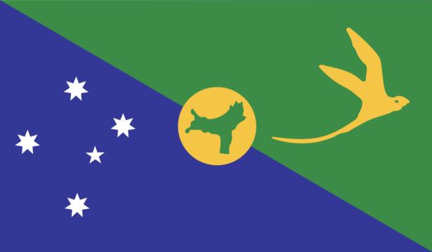 Прапор Острову Різдва (world-00205)