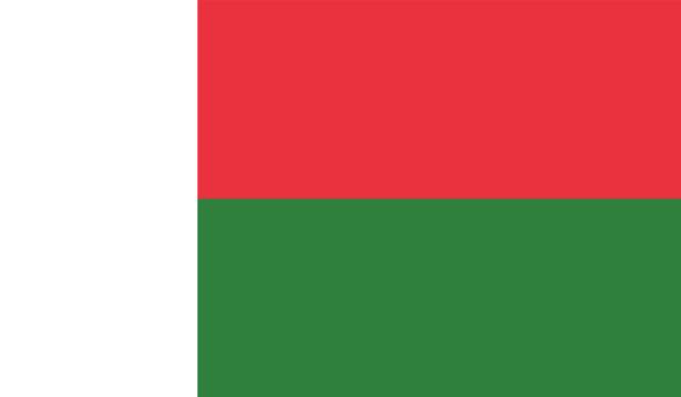 Прапор Мадагаскару (world-00256)