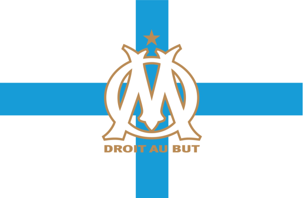 Прапор Олімпік Марсель (football-00064)