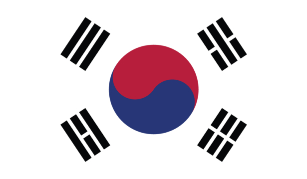 прапор Південної Кореї (world-00096)