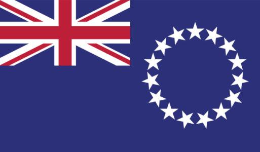 Прапор островів Кука (world-00211)