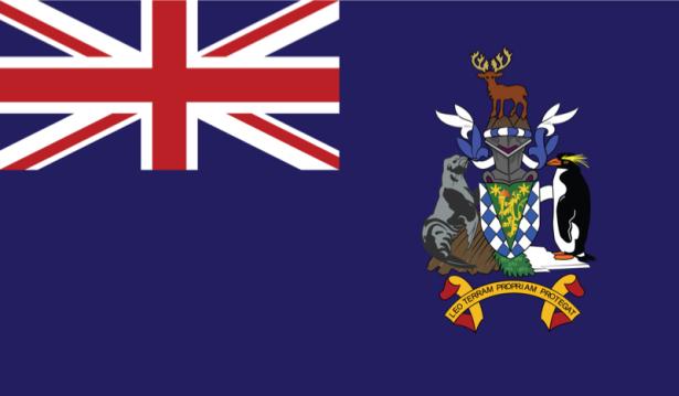 Прапор Південної Джорджії і Південних Сандвічевих островів (world-00057)