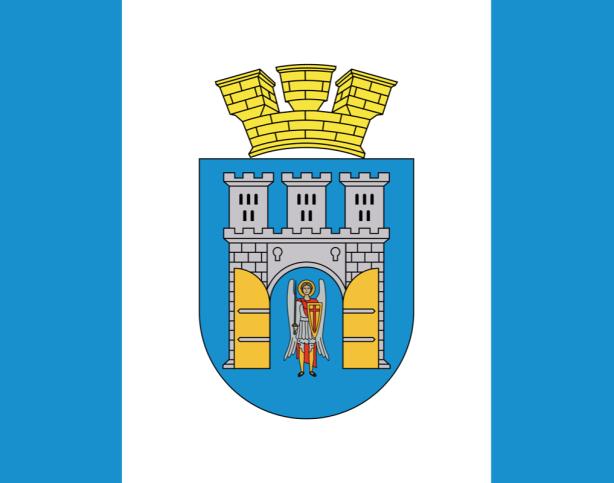 Прапор міста Івано-Франківськ (flag-000100)