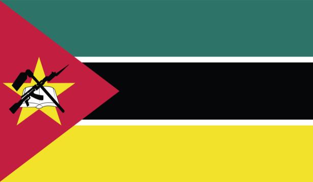 Прапор Мозамбіку (world-00275)