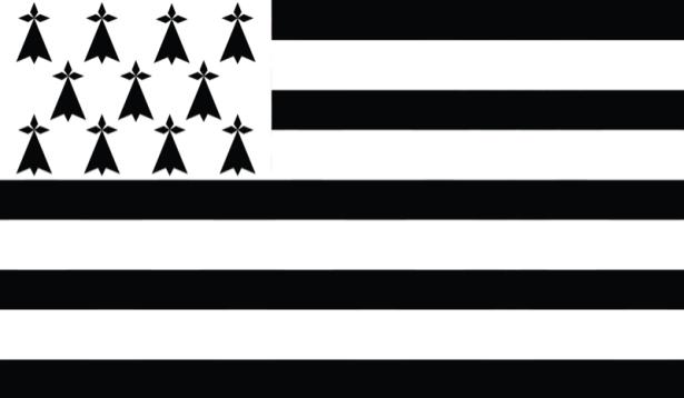 Прапор Бретані (world-00186)