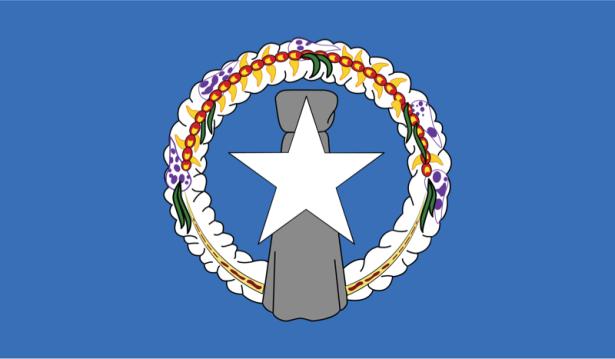 Прапор Північних Маріанських островів (world-00001)