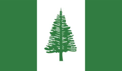Прапор острова Норфолк (world-00288)