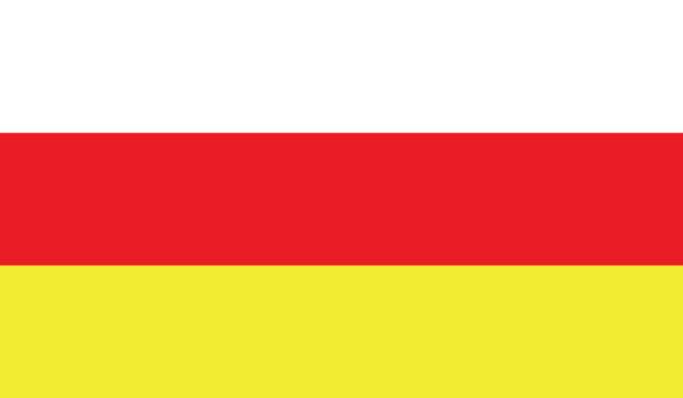 прапор Північної Осетії (world-00058)