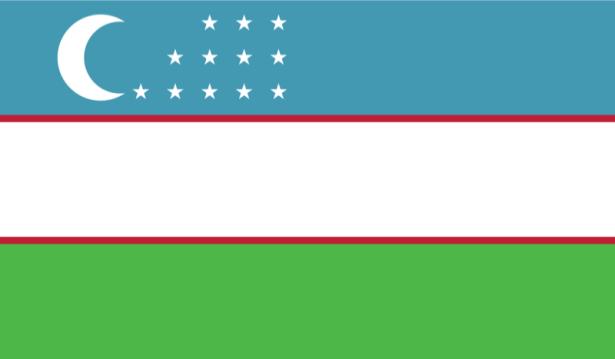 прапор Узбекистану (world-00134)