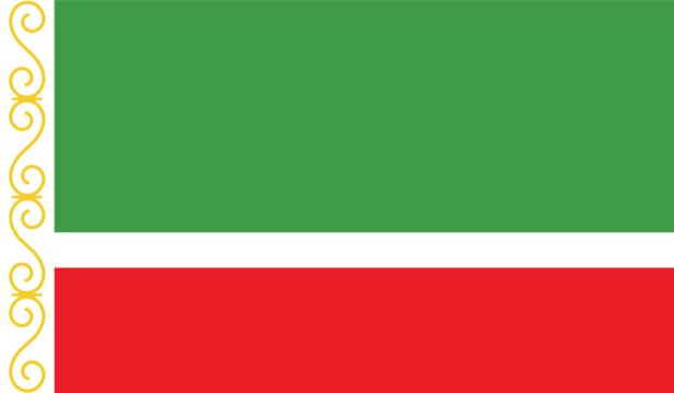 Прапор Чеченської Республіки (world-00202)