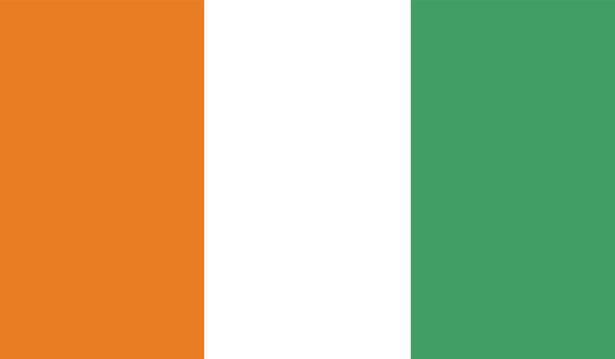 Прапор Кот-д'Івуар (world-00213)